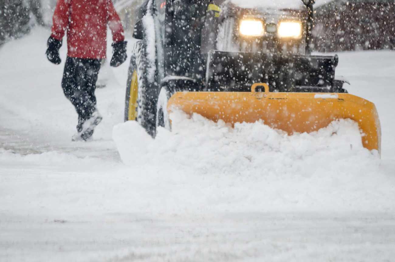 Snow removal Bellevue, WA